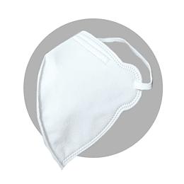 Mascarilla N95-Pt Blanca Cuatro Capas