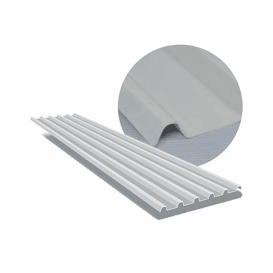 Teja Upvc Plus Blanco 5.90 X 1.13 2Mm