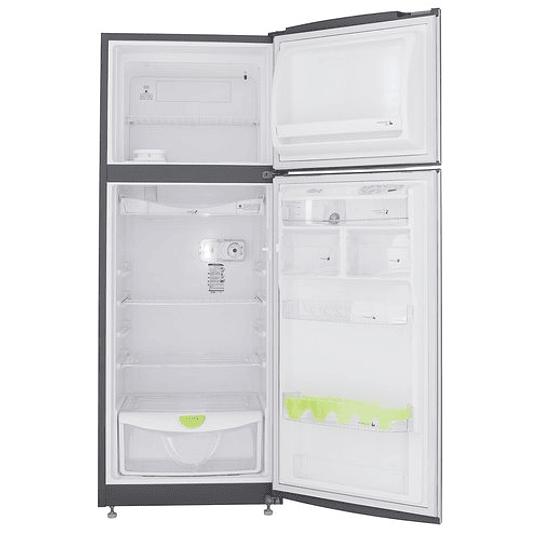 Nevera Austria 304 Litros Haceb - Manija Externa Aluminio - Titanio