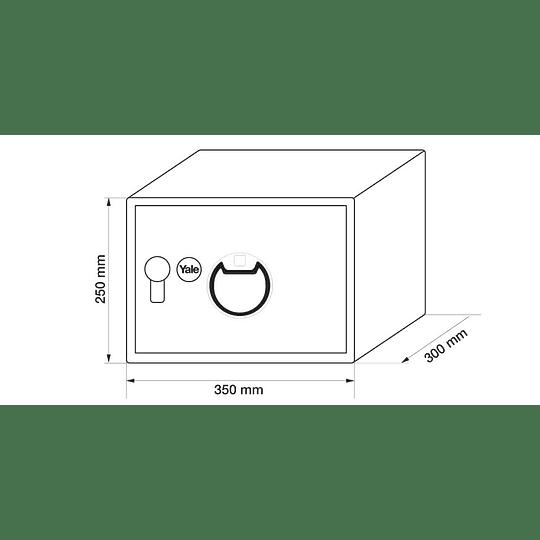 Caja Fuerte Biométrica Mediana Yale