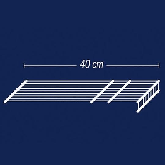 Entrepaño de 40X120 cm Blanco