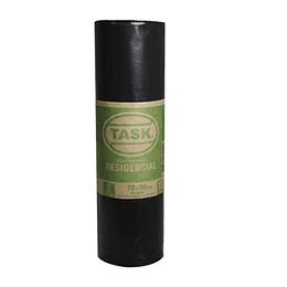 Bolsa de Basura Negro Rollo x 10 Unidades Task