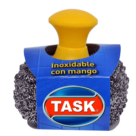 Esponja Task platinum con pomo x und