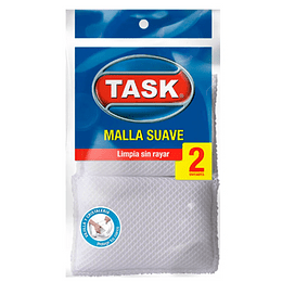 Esponja Mallla Suave X2 Task