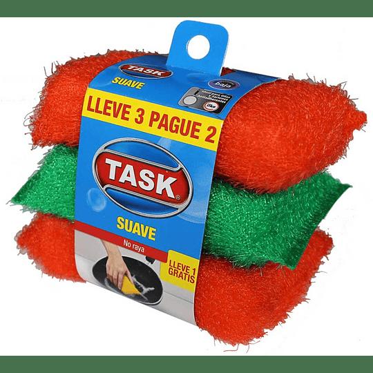 Esponja Suave Task Lleve 3 Pague 2