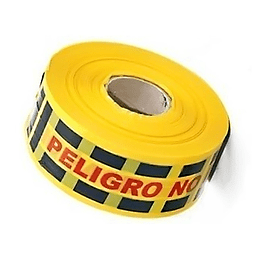 """Cinta de Señalización """"Peligro"""" por 500 Metros"""
