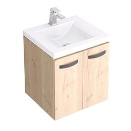Kit Lavamanos Siena Blanco 48X43 con Mueble Elevado Básico