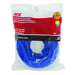 Cable Para Red Categoria 5E X 30.5Mt Ace