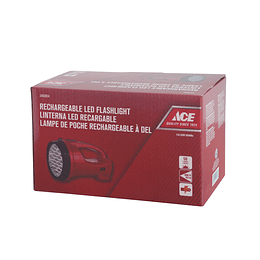 Linterna 19 Led Recargable Plastica Ace 3460854