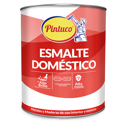 Esmalte Doméstico Gris Humo