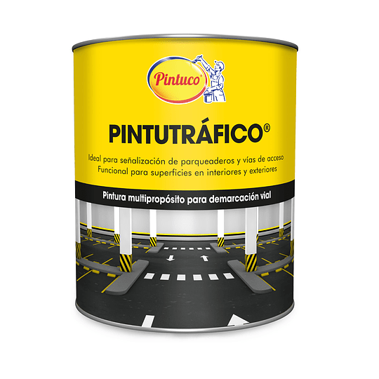 Pintutráfico Acrílica Base Solvente Amarillo
