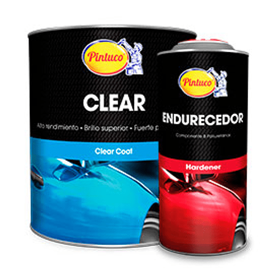 Kit Clear Coat Barniz Crystal 9400