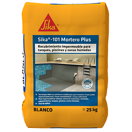 Sika-101 Mortero Plus Blanco
