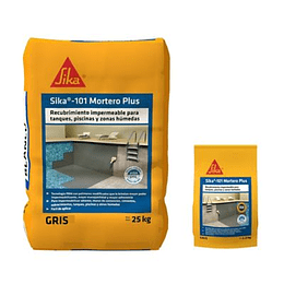 Sika-101 Mortero Plus Gris