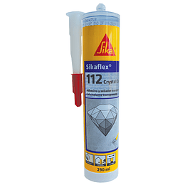 Sikaflex-112 Crystal Clear de 300 ml
