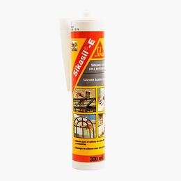Sikasil E Blanco de 300 ml