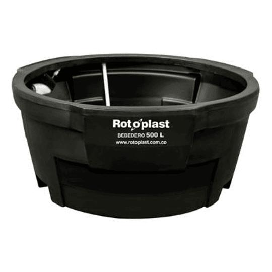 Bebedero Negro con Kit de 500 Litros