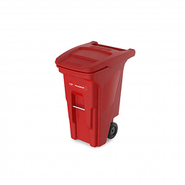 Contenedor de Basura Rojo de 180 Litros