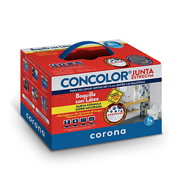 Boquilla Concolor Concolor Junta Estrecha por 2 Kg