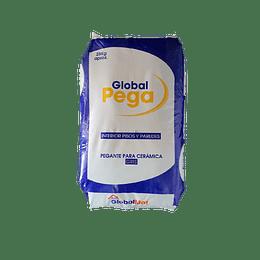 Global Pega Cerámico Gris por 25 Kg