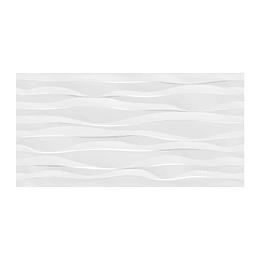 Pared  Estructurada Estonia Brillante Blanco CU de 30 x 60 cm
