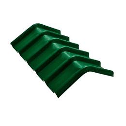 Caballete Forte Verde UPVC de 2 mm por 0.60 x 0.94 Metros