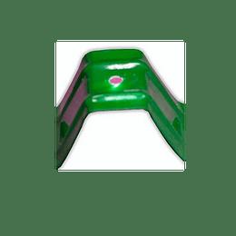Set de Fijación para Teja Forte Verde por 10 Und
