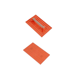 Llana Plástica Naranja de 33.9 x 21 cm