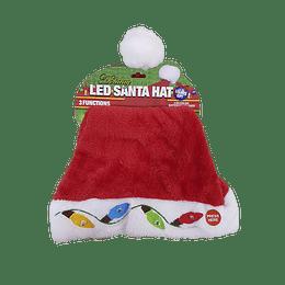 Gorro de Navidad con Luces