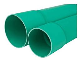 """Tubo Ducto Telefónico Tipo Liviano EB de 4"""" x 6 Metros"""