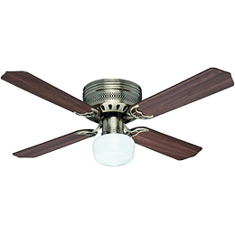 "Ventilador De Techo 42"" 4 Aspas Bronce Antiguo Hunter"