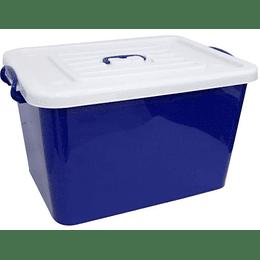 Caja Organizadora Con Ruedas Y Tapa