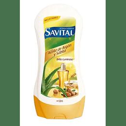 Acondicionador Savital Aceite De Argán 530 Ml