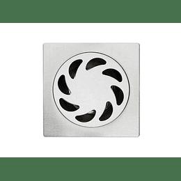 Rejilla Acero Inox Anticucarachas y Olores 10 x 10 Cm
