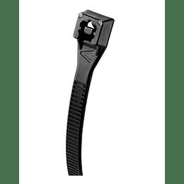 Abrazadera Plástica Negra 20.3 Cm x Paquete