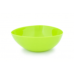 Bowl Triangular Plástico Verde 3300 ml