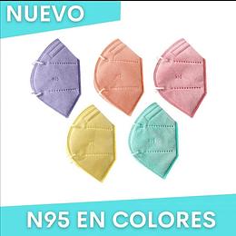 Tapabocas Adulto N95 Unicolor