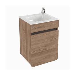 Combo Mueble Aluvia Miel Elevado con Lavamanos 40 x 35 cm