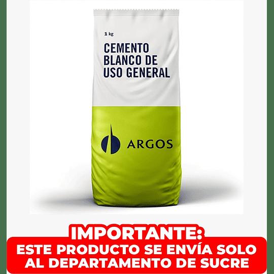 Cemento Blanco Bolsa 1 Kilo Argos