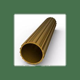 """Tubo Para Cortina Bronce 3/4"""" x 0.72 mm Largo 6mts"""