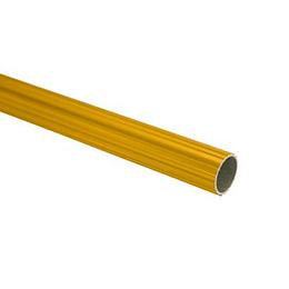 "Tubo Para Cortina Dorado 1"" x 0.72 mm Largo 6mts"