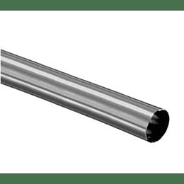 """Tubo De Acero Inoxidable Calibre 18 x 1.1/2"""" x Mt"""