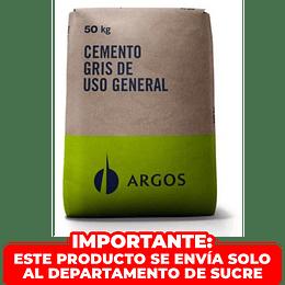 Cemento Gris X 50 Kgr Argos