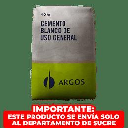 Cemento Blanco Nare 40Kilos Bulto Argos