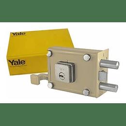 Chapa De Sobreponer Yale Serie 987 Pasador Derecha 0003001