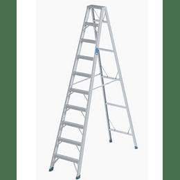 Escalera Tijera en Aluminio de 10 Peldaños T1