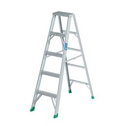 Escalera Tijera Aluminio T2 5 Peldaños 1.45 Mt