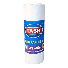 Bolsa Basura Task para Mini Papelera 43X48 cm por 30 Und