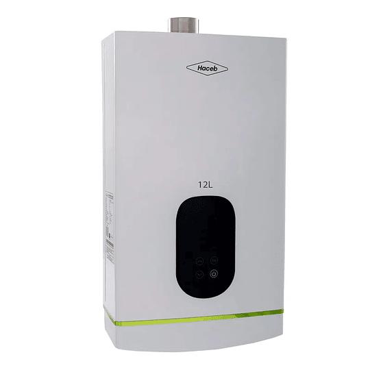 Calentador De Agua 12 Litros Gas Natural Tiro Forzado