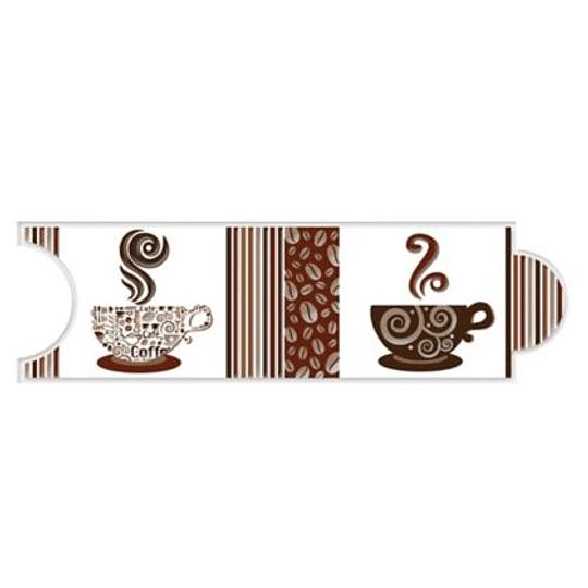Listello para Cocina Expresso Café 8 x 25 cm